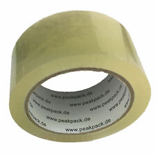 Klebeband 36x Rolle Transparent LEISE 50µm 66m Packband Paketband Paketklebeband
