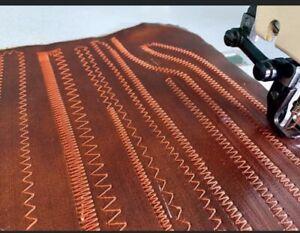 BESTSEW Walking Foot Heavy Zig Zag Industrial Sewing Machine Cross Stitch Sail m