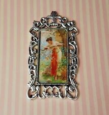 Classical painting 1:12th scale dolls house picture edwardian victorian blossom