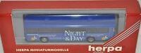 "herpa 141383 -MAN SÜ 240 Version 2/Werbemodell ""NIGHT & DAY"", H0 1:87, neu + OVP"