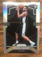 2019-20 KELDON JOHNSON Panini Silver Prizm RC Rookie #273 UK Spurs