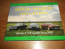 Book. Aston Martin and Lagonda Volume 2 V8 Models from 1970 A Collector's Guide