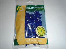 Loose Pack of 40 Blue Castle Step Graduated Tees 35mm