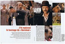 COUPURE DE PRESSE CLIPPING 1993 RENAUD SECHAN - CLAUDE BERRI  GERMINAL  (4 pag)