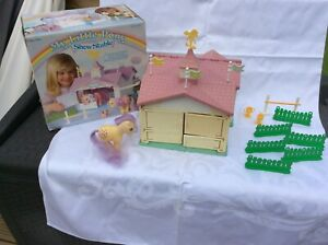 Hasbro Boxed vintage/retro 1980's My Little Pony Show Stable & accessories