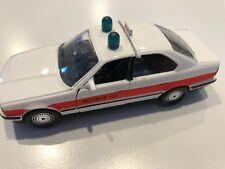 "BMW 535i E34 ""Notruff 112"" White 1:43 scale diecast model # 82 22 9 417 277"