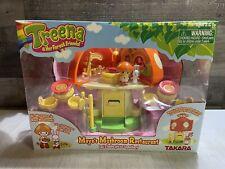 Treena & Her Forest Friends Maya's Mushroom Restaurant Takara 2005 Rare Nib L@K