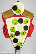 Pizza Costume 2 Piece Novelty Slice Of Pizza Halloween Promotional Costume