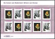 Nederland 2489-A-21/22 vel Canon 21 en 22 Willem van Oranje