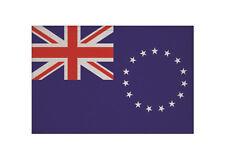 Aufnäher Cook Inseln Fahne Flagge Aufbügler Patch 9 x 6 cm
