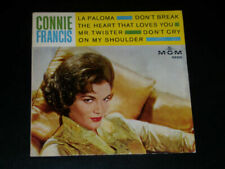 Vinyles EP connie francis