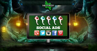 SOCIAL WEB MARKETING • Servizio pubblicità • FACEBOOK / INSTAGRAM / TWITTER