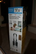 DYSON Pure Hot+Cool Link Silver HP02 Heater + Fan + Extra Filter OPEN BOX