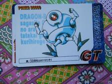 dragon ball gt pp card cards parte 30 n 6