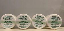 Lot of 4 Mario Badescu Skin Care Seaweed Night Cream .25 oz each- 1 oz Total