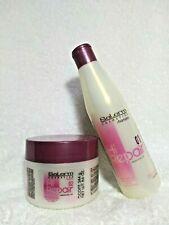 SALERM HI REPAIR 01- PROF. LINE SHAMPOO 9.0 OZ + Mask 02 for Damaged & Dry Hair
