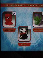 Marvel Spiderman Character Ceramic Molded Mug Coffee mug. New Applause
