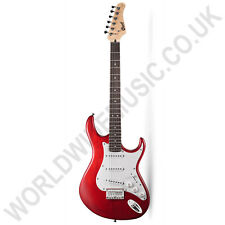 Cort G100 OPBC G-Series Electric Guitar with Open Pore Black Cherry finish.