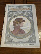Newspaper Album Universel 1905 Advertising