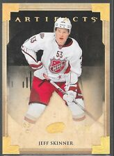 13/14 Artifacts Gold Spectrum Jeff Skinner /25 40 Hurricanes
