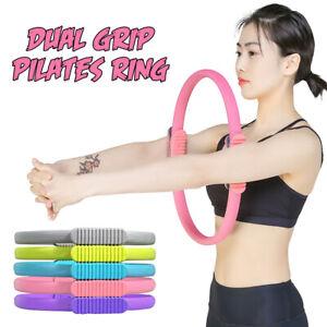 Circle Yoga Dual Grip Pilates Ring Workout Elastic Gym Fitness