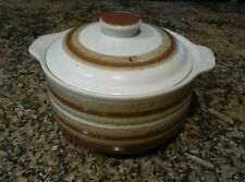 Otagiri Japan Stone Ware Oven To Table Covered Casserole w/ Lid, 1970's