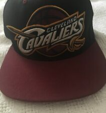 fa0d99c8 Cleveland Cavaliers NBA Men's Adjustable Snapback Cap Hat Red Mitchell &  Ness PA