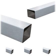 Vierkantrohr Rechteckrohr Edelstahlrohr Edelstahl V2A VA Rohre bis 145 cm A2