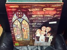 Fred Kirby Pipe Organ & Chimes Christmas Favorites vinyl LP Yuletide Series