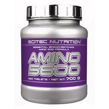 (EUR 26,84/kg) Scitec Nutrition - Amino 5600, 500 Tabletten - Mega BCAA, EAA -