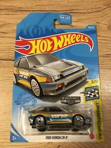 HOT WHEELS Zamac 85' Honda CR-X Turbo