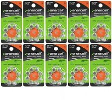 80 Enercell Size 13 Zinc Air Hearing Aid Batteries 23-1166 May 2018 Made in USA