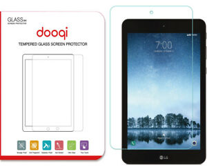 Dooqi Premium Tempered Glass Screen Protector Saver For LG G Pad F2 8.0