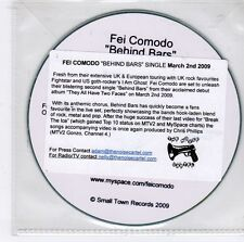 (GJ655) Fei Comodo, Behind Bars - 2009 DJ CD