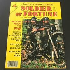 VTG Soldier of Fortune Magazine May 1986 - Motorcycles Meant for War / Newsstand