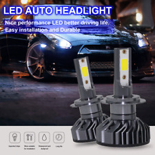 Mini H7 300W 15000LM DOB LED Headlight Fog Kit High Low Beam Bulb Xenon 6500K