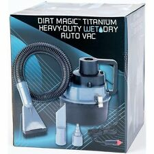 Titanium Dirt Magic Heavy-Duty Wet Dry Auto or Garage Vac Car Vacuum Cleaner