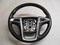 2012 Chevrolet Equinox Leather Steering Wheel w/Radio & Cruise Control OEM LKQ