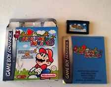 Super Mario Advance - Game boy advance (complete)