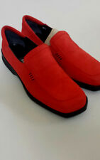 Women's BALLY  Nubuck Leather Shoes Red Color Size UK 5 - BNWOB