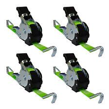 4x Automatik Spanngurt Automatischer Zurrgurt 3,5 m 340/680 daN aufrollend (49)