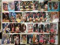 Hakeem Olajuwon 38 Card HOF Basketball Card Lot HOUSTON ROCKETS