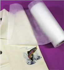 """FUSIBLE PolyMesh Embroidery Stabilizer Cut Away 8""""x25YD"""