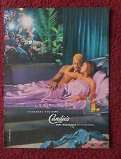 1999 Print Ad CANDIE Perfume Cologne Fragrance ~ Dennis Rodman & Carmen Electra