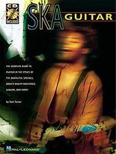 SKA Guitar Learn to Play Reggae Punk Rock R&B TAB Music Book & CD Riffs LESSON