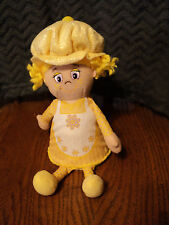 "Little Miss Muffin 9"" Yellow Cupcake Plush Doll"