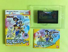 Digimon Tamors DIGIMON MEDLEY WonderSwan Color WS WSC Wonder Swan JAPAN USED