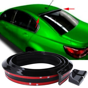 For Holden Commodore VE VZ 4.9ft/1.5M Black PU Car Roof Tail Rear Window Spoiler
