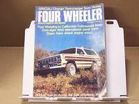 December 1975 Four Wheeler Magazine Mods Tech Off Road 4wd 4x4 Tests