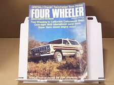 December 1975 Four Wheeler Magazine Mods Tech Off Road 4wd 4x4 Tests